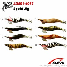 Fishery!colorful Squid Jig Fishing Lure squid hook JSM01-6077