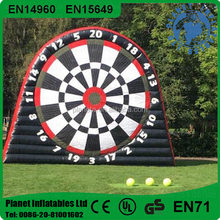 Outdoor Hot Crazy Inflatable Soccer Darts Board For Sale