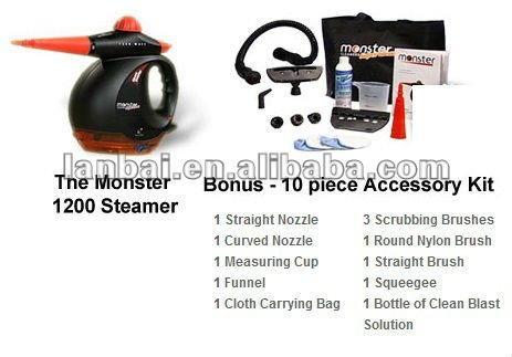 Monster 1200 Steam Cleaner / Steamer