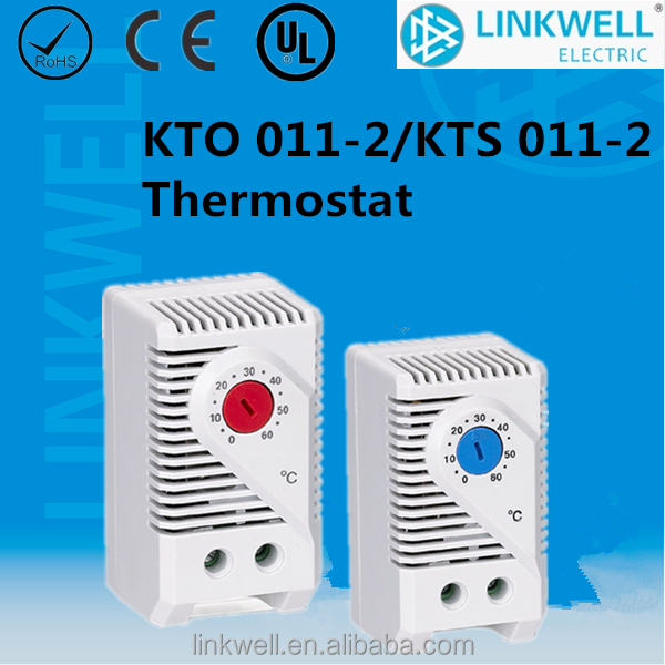 small KTO 011 KTS 011 Internal Enclosure Thermostat, temperature switch thermostat