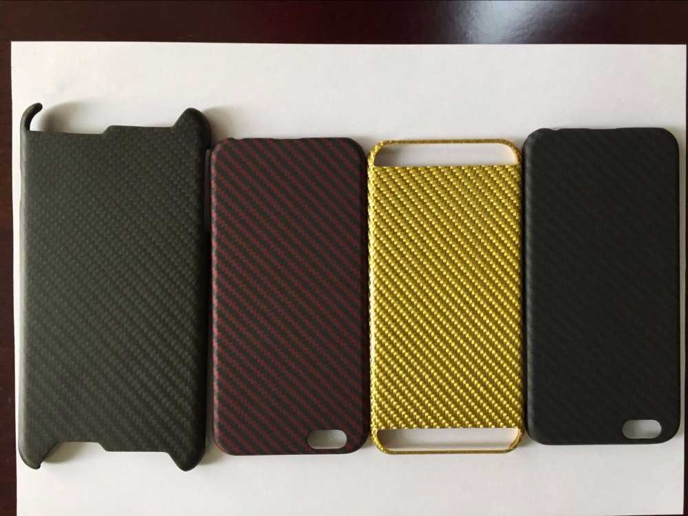 new design simply carbon fiber phone case manufactured in China