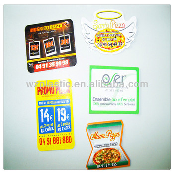 custom paper fridge magnet for promotion gift