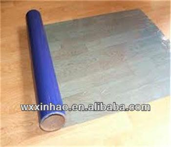 Hot blue protective film for floor /glass/plastic panel