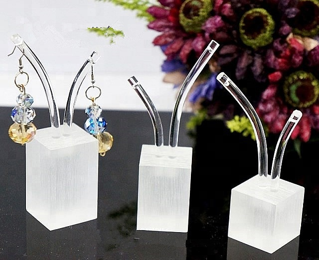 Hot Selling High Grade Clear Acrylic Jewelry Display Earring Display Stands Holder