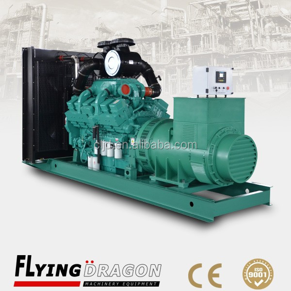 electronic governor diesel generator 800kw/1000kva generator with cummins engine KTA38-G2A