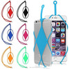 2016 Universal Phones Silicone Lanyard Case Cover Holder Sling Necklace Wrist Strap