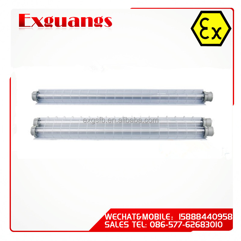 1*18W Explosion Proof Fluorescent light fitting(IP54 IIB IIC)