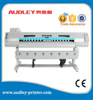 plotter de impresion withe front and rear paper-pressing system