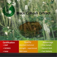 Black cohosh powder black cohosh extract