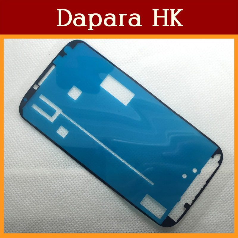 50pcs/Lot For Samsung Galaxy S4 i9500 i9505 Front Frame Adhesive Sticker Free Shipping