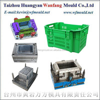 China mold suppliers of high quality plastic fruit&vegetable crate mould&injection mould