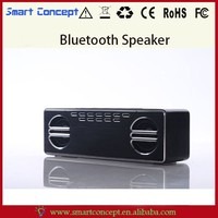 Aluminium Alloy Material Square Bluetooth Speaker With Three Music Model Choices