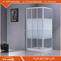 Hot selling bathroom sliding glass door made in China