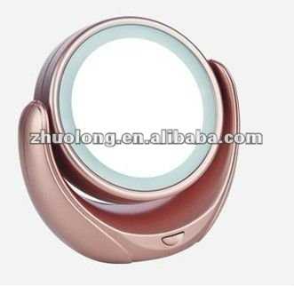 desktop beauty mirror /With LED