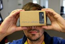 "Google cardboard version 2.0 Google Cardboard 2 virtual reality vr google cardboard 3D glasses for 3.5-6"" phone"