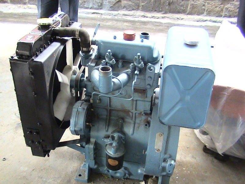 15kw -18kw two cylinder diesel engine used for generating or construction