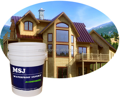 Mesiden Evironment friendly Two Component JS Composite Waterproof Paint For Interior or Exterior Walls