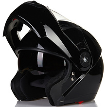 ILM Motorcycle Helmets Modular Flip Up Double Visors Helmet Full Face Casque Moto Racing Motocross DOT Motocicleta Casco Carbon