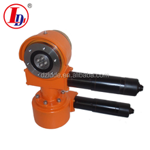 We have 9 inch dual axis worm gear slewing drive