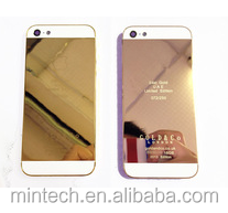Replacement 24K Gold Back Cover Housing For Iphone 5
