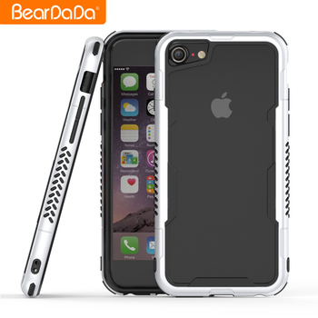 High Impact frame bumper cellphone case for iphone 8,for iphone 8 bumper phone case