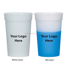 Heat Sensitive Temperature Color Change Plastic Cup