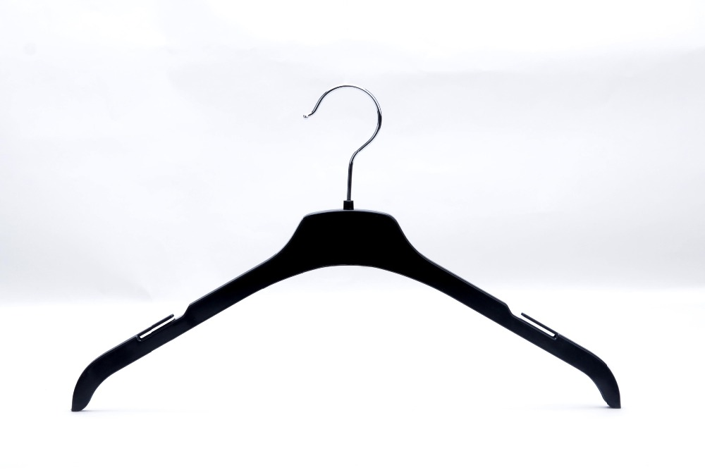 Eisho-betterall black cheap PP plastic clothes hangers with logo
