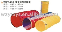 Plastic kids indoor toy playing tunnel