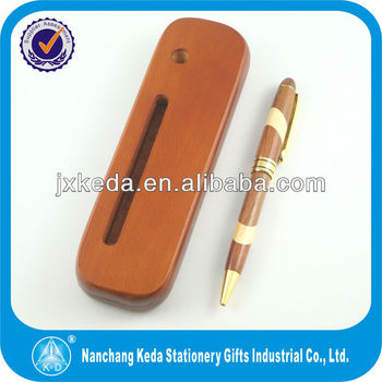 2014 white and rose Phase separation rosewooden pen with your logo