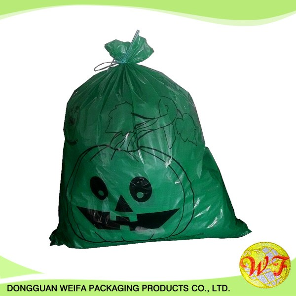 LDPE Plastic Type and Garbage Industrial Use garbage bag