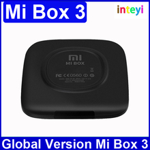[Global Version] Original XiaoMi Mi TV Box 3 Smart Andriod Media Player 4K TV Set-top Box MiBox Amlogic S905 1G RAM 4G Quad Core