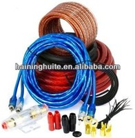 4GA CAR AUDIO AMPLIFIER AMP WIRING KIT