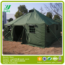 Professional Manufacturer waterproof and windproof military tent canvas tent army tent For 10 Persons