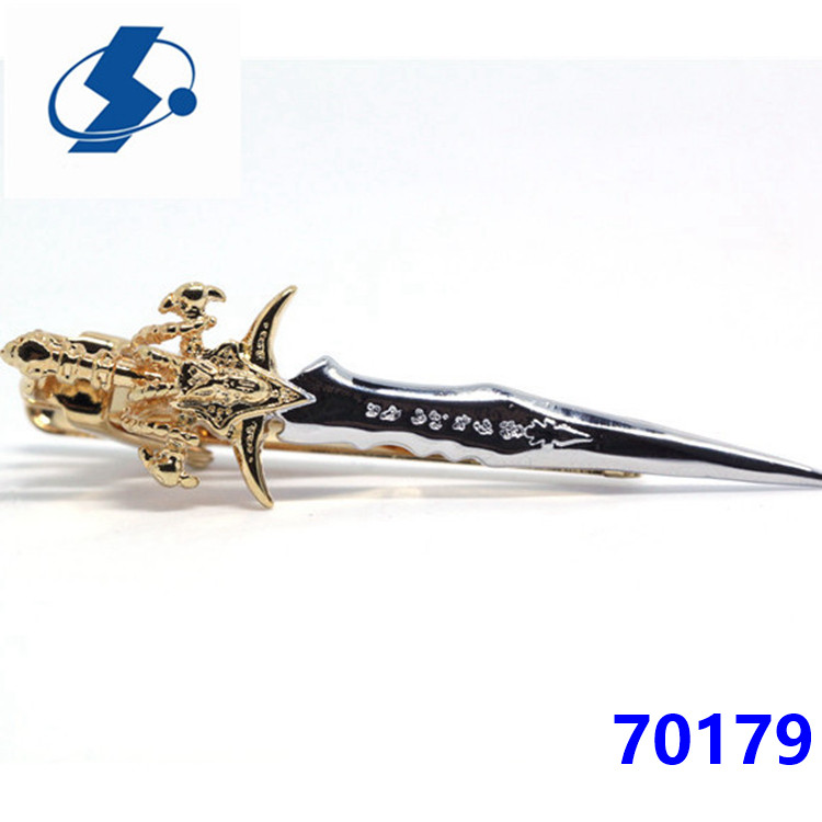 Festival Gifts Fashion Jewelry Wholesale Personalized Cupid'S Arrows Tie Clip Set Clip-On Ties