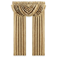 Good quality Arabic kitchen door polyester jacquard valance swag curtains