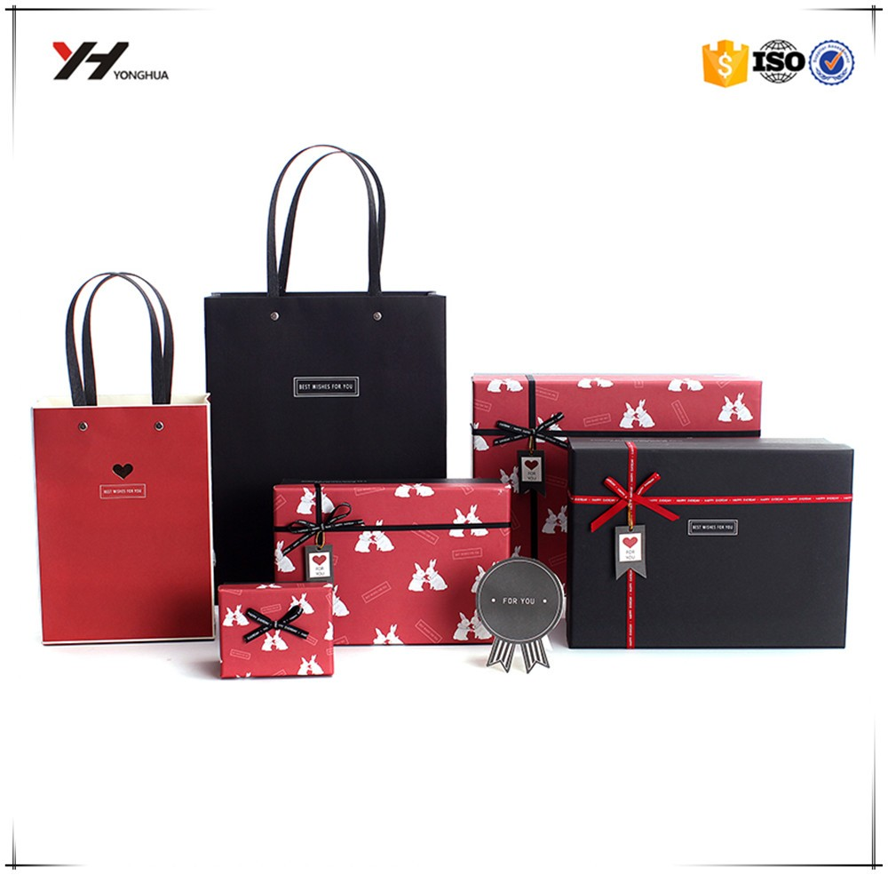 Custom high quality T-shirt paper packaging box sets