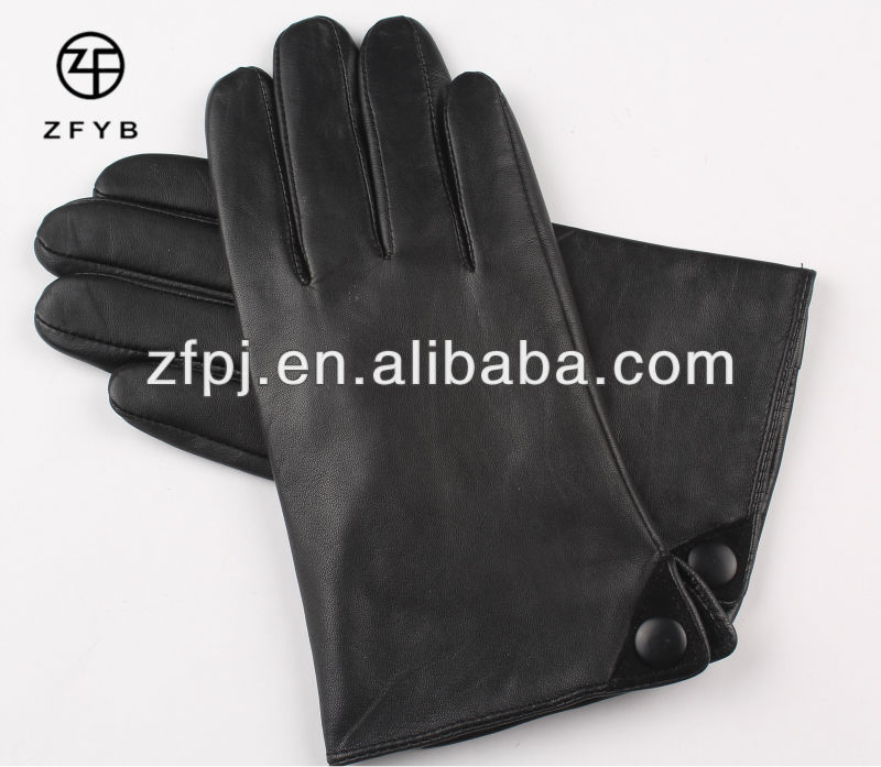 Professional manufacturer of mens Motorcycle Leather Driving Gloves