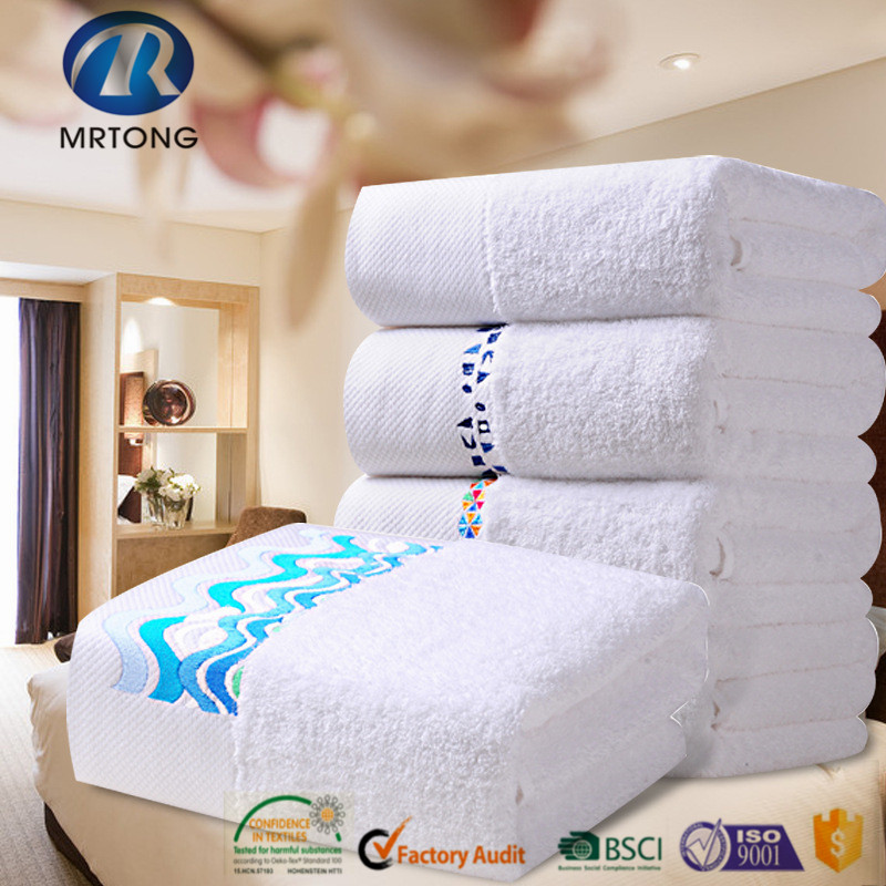 Hotel Bath Towel 100% cotton white 500g 70cm x 140cm