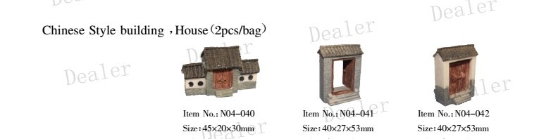 Hand made Landscape/Chinese Style building,House/architectural building model maker ,,educational creative toys