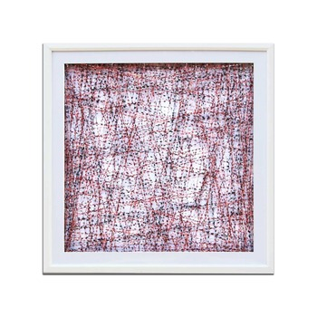 New Design Mixed Color Square String Wall Art