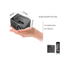 the world smallest LCD projector mini protable home projector UC18