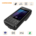 Newest rugged 4G LTE Android 6.0 smart phone, POS terminal, thermal pos printer