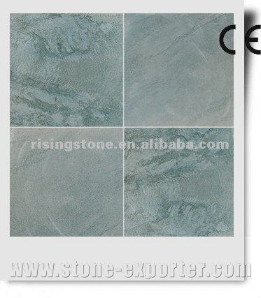 Light green ledge stone quartzite