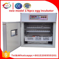 good price 176 chicken egg and quail egg incubator and hatching machine