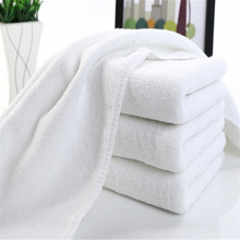 China supplier manufacturer Products Cheap Price Custom 100% Cotton Material White Hotel Bath Towel