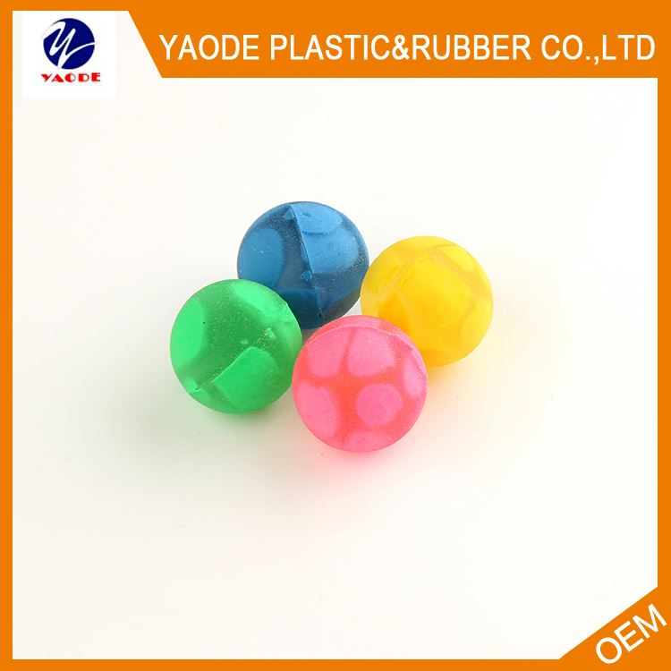 Wholesale trendy style sports rubber children's bouncing ball