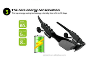 Hot Selling Sport Sun glasses Bluetooth Headset Headphone Sunglass with MP3 Player ,handfree calling