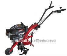 Hot sale 4.5hp 4stroke mini used rotary tiller