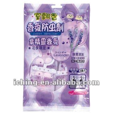 Lavendel tegen zilvervisjes
