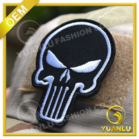 Factory Design 3D Embroidery Velcro Armbands For Clothing